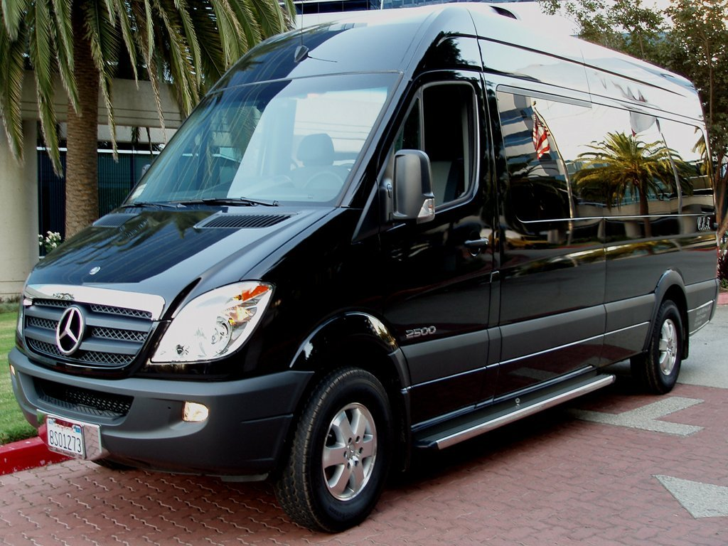 Our charter and shuttle bus fleet sprinters minibuses for Mercedes benz charter bus