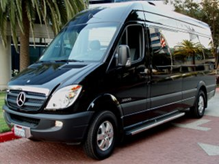 Charter and Shuttle Bus Mercedes Sprinter Van
